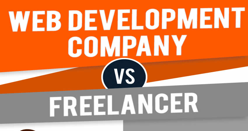 web design company vs freelance