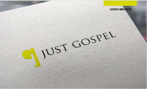 Just Gospel - brand logo design identity agency in Lagos