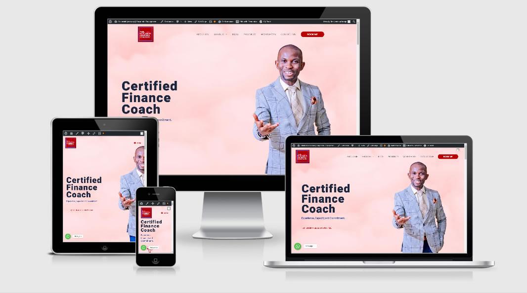 Benjamin Aduroja website responsive